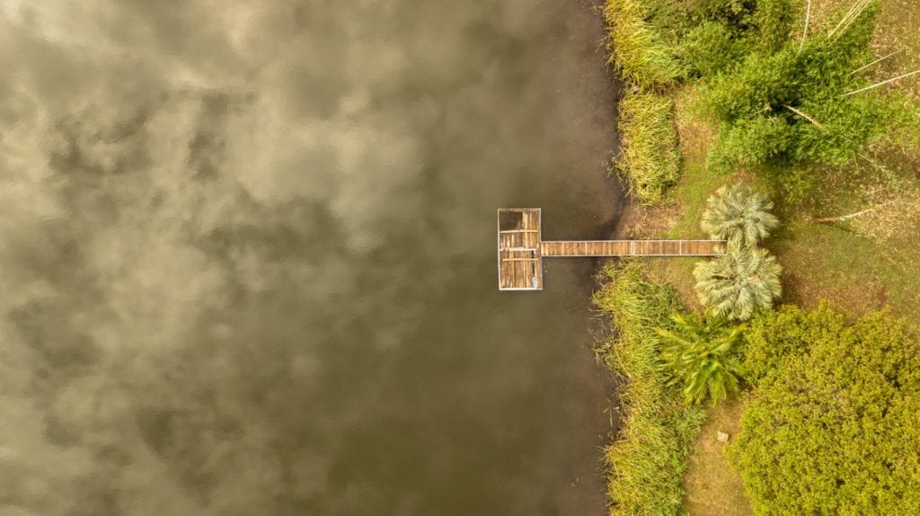 The jetty aerial